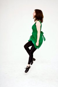 green-dress-side-view-a