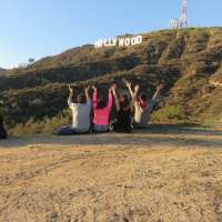 Hollyridge Trail - Top of the Hollywood Sign
