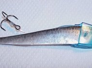 Striptease lure designed by Rhys Davis