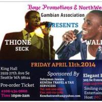 Thione & Wally Seck's Seattle failed show exposes dismal failure of U.S Tour