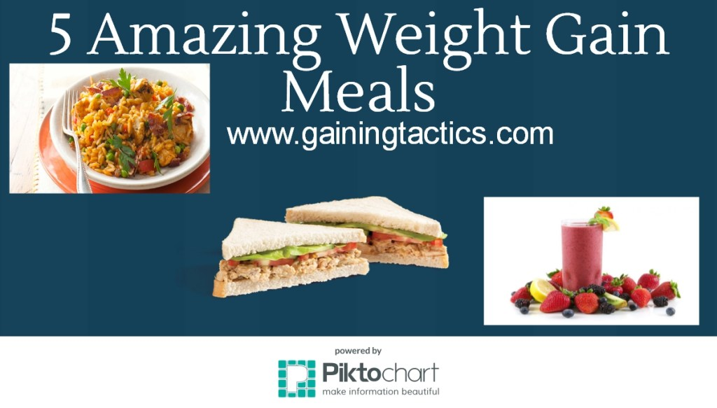 5 Amazing Weight Gain Meals