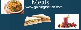 weight gain meals