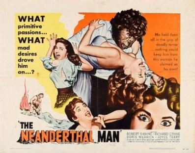 Primitive neanderthal poster