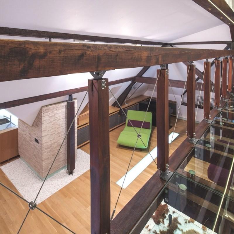 Уютные апартаменты на чердаке в Бухаресте