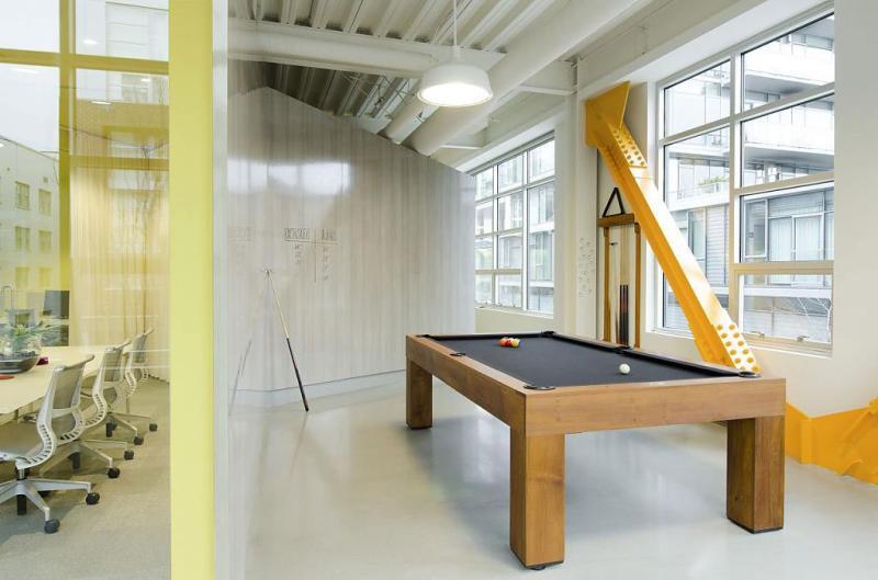 Дизаайн офиса для компании Fine Design Group в Портленде