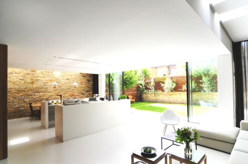 Дизайн дома с архитектурой в викторианском стиле в Лондоне