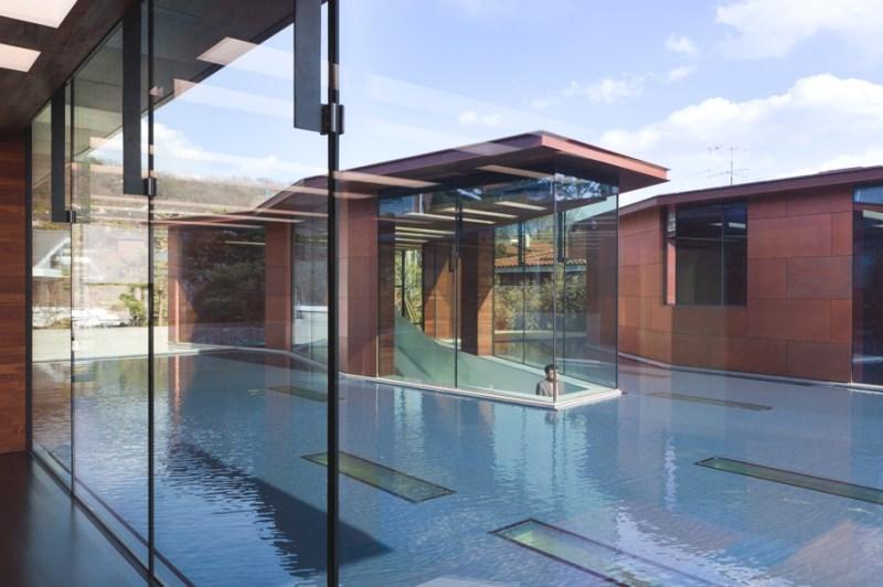 Дом-галерея Daeyang от известного архитектора в Южной Корее