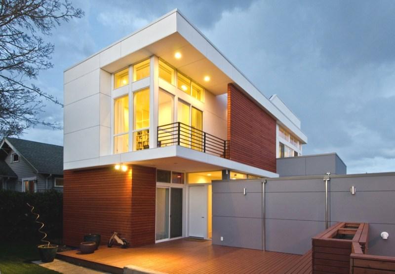 Дом Azaya от архитектурной фирмы Pb Elemental  в  Сиэтле