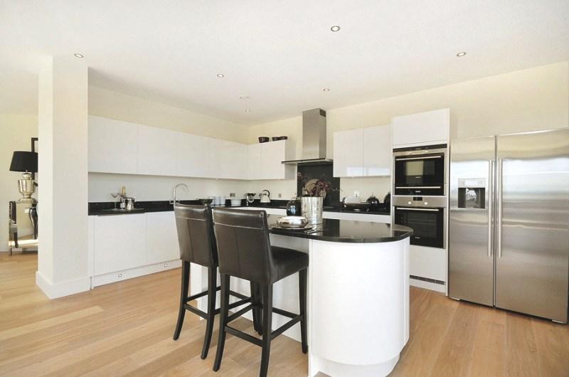 Дизайн апартаментов Mill Apartments в Лондоне
