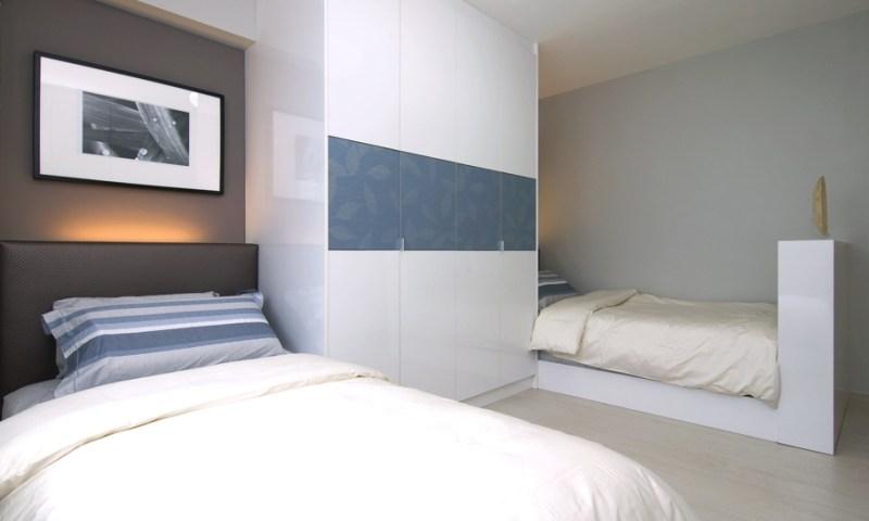 Однокомнатная квартира в скандинавском стиле в Сингапуре