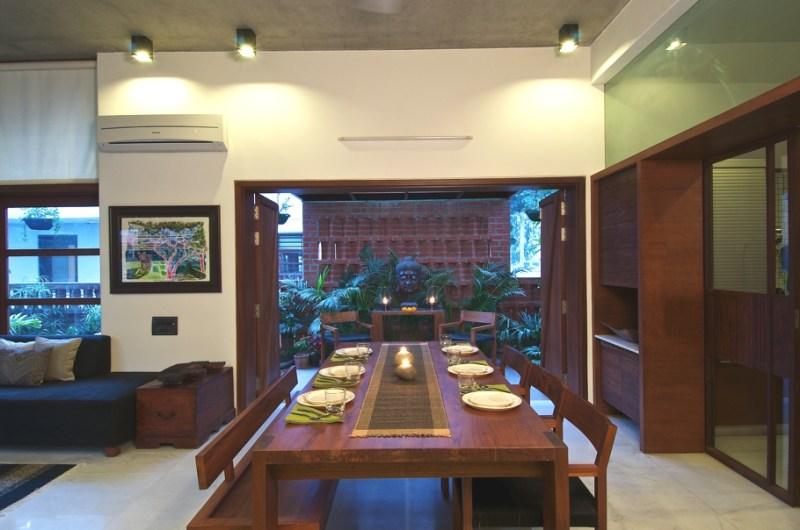 Дом в национальном индийском стиле