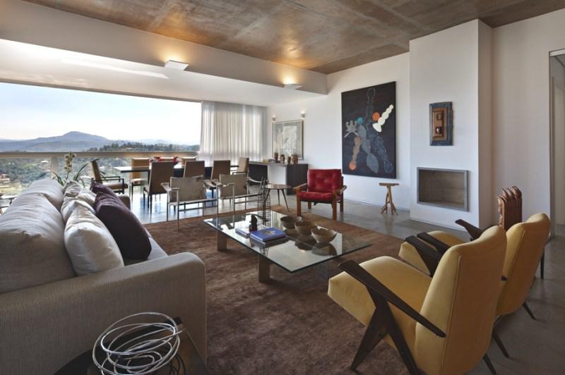 Дом у озера от архитектора David Guerra