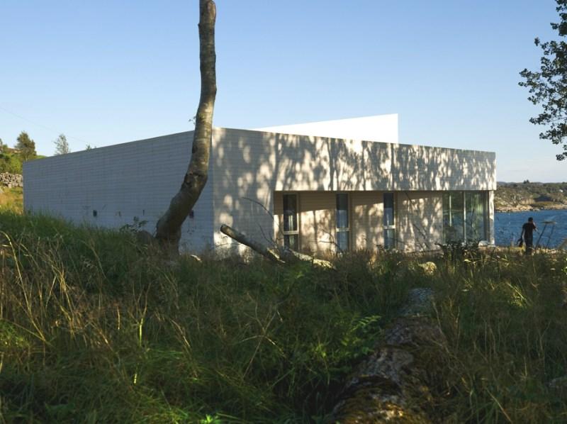 Минималистичная Villa Morild  в Бергене