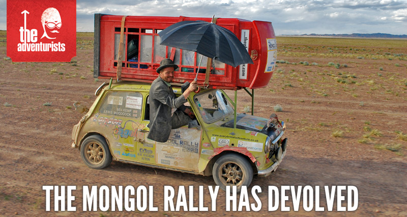 The Mongol Rally has Devolved
