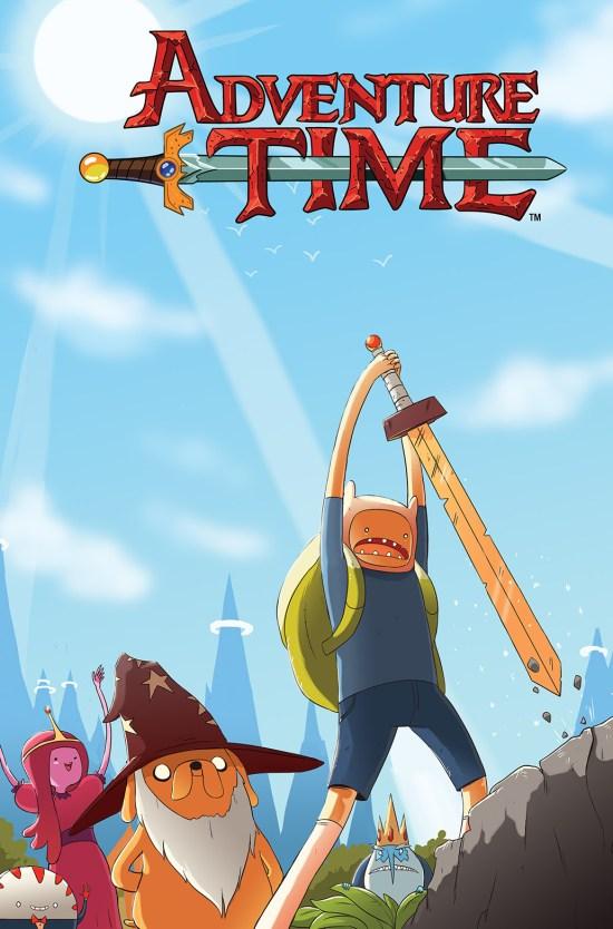 ADVENTURE TIME VOL. 5 TP Cover by Scott Maynard