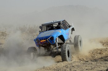"Larry McRea FOX Rock Racing Pilot, Erik Miller, Earns the Title of ""King"" at 2012 King of the Hammers"
