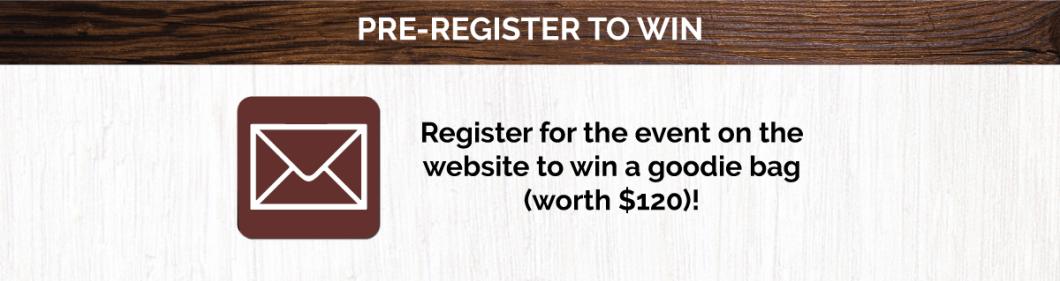 Pre-register to Win