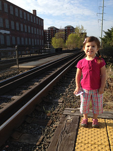 Esme at Beverly Depot