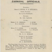 Page 2 - Booklet for the Kieran Memorial Fund — Nautical Ship Sobraon Amateur Swimming Club Grand Carnival held at Drummoyne Baths on 24 January 1906