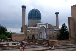 A mausoleum in Samarqand