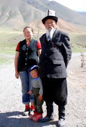 A Kyrgyz family