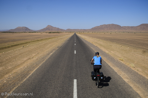 Cycling In The Sahara