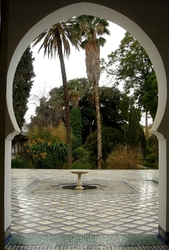 The beautiful Batha Museum in Fes