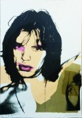 Andy Warhol Mick Jagger FS II.141- 1975 43 x 29 inches