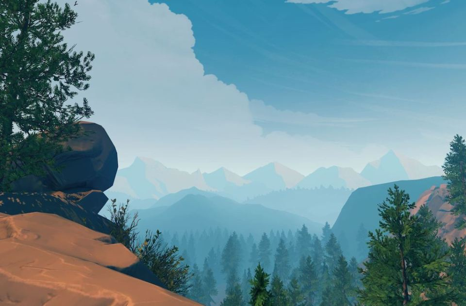 Firewatch valley