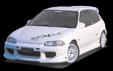 gambar sedan honda civic estilo