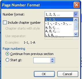 cara memberi nomor halaman pada microsoft word