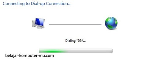 Cara setting koneksi internet dial up windows seven