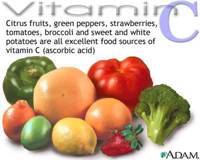 pengertian vitamin c - sumber vitamin c