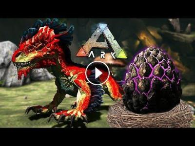 ARK: Survival Evolved - BABY ROCK DRAKE EGG HATCHING & RAISING!! (ARK Aberration)