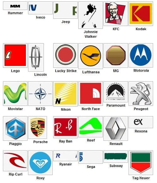 Logo Quiz soluzioni – livello 5 | iOS (iPhone e iPad)