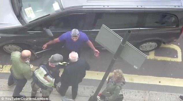 Cyclist Rage Against Motorist