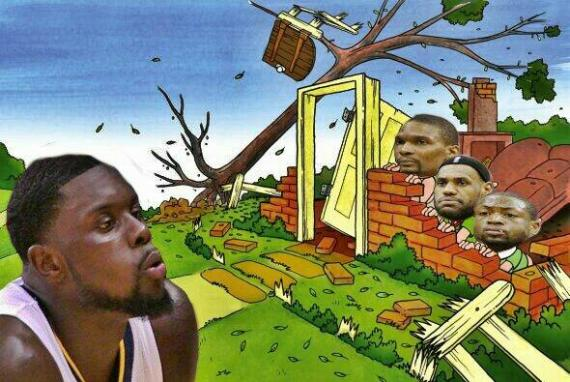 lance stephenson blowing meme
