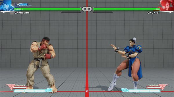 Street Fighter V BETA details     GameGeekz Upon finding an opponent  players will be transported back to the versus  screen and begin their match shortly thereafter  After the match is  complete