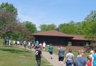 The inaugural EMF Workhorse 5K at Lake Phalen, Saint Paul, Minnesota