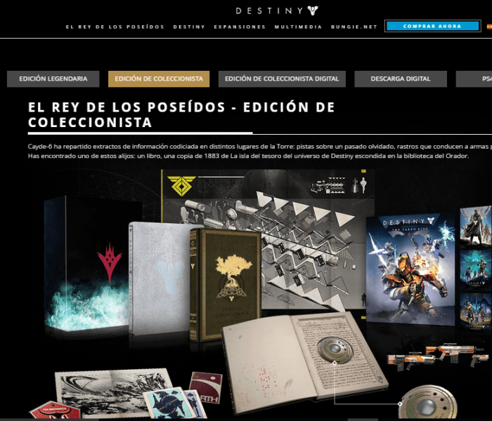 Unboxing: Destiny The Taken King Collection´s Edition