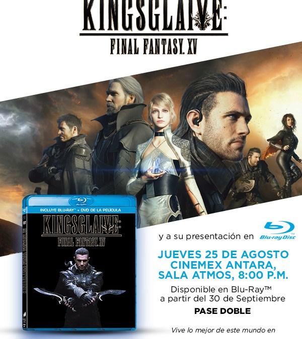 Presentación de Kingsglaive Final Fantasy XV en México
