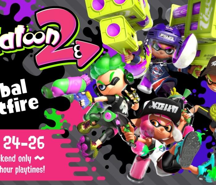 Splatoon 2 tendrá beta abierta del 24 al 26 de marzo