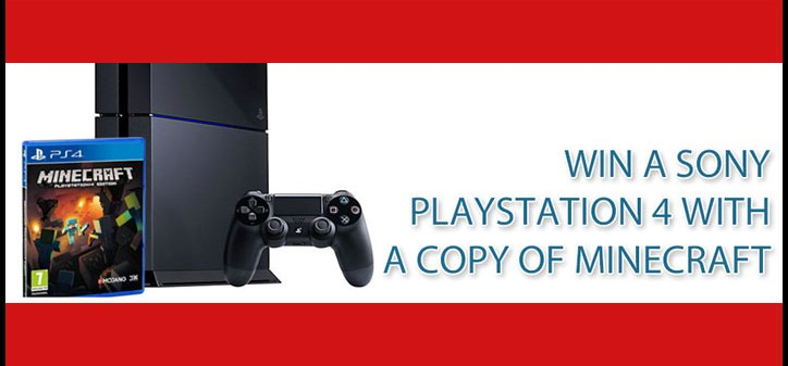 Win a Sony Playstation 4