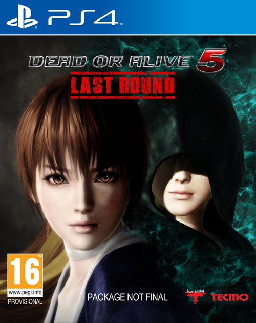 Dead or Alive 5 Last Round PS4 Cover