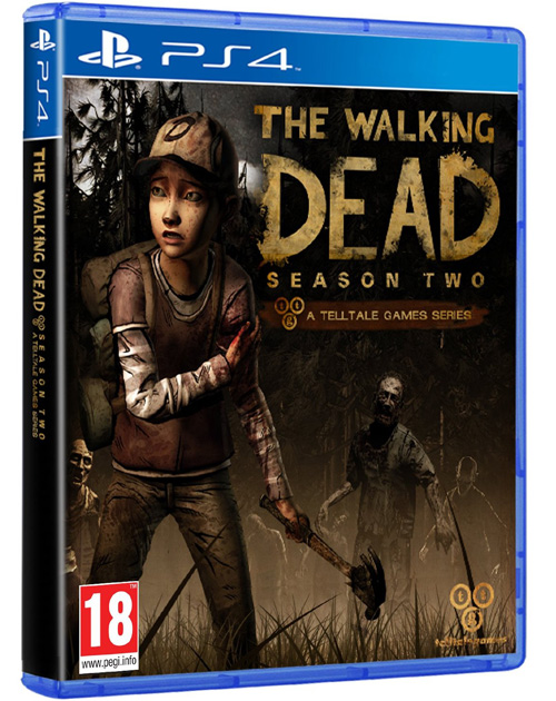 The Walking Dead Season 2 Cover PS4