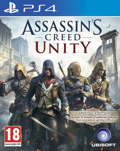 Assassin's Creed: Unity PS4 Cover