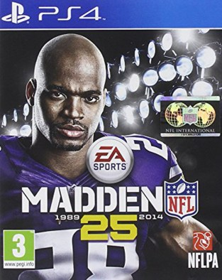 Madden NFL 25 PS4 Cover