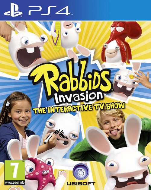 Rabbids Invasion: The Interactive TV Show PS4 Cover