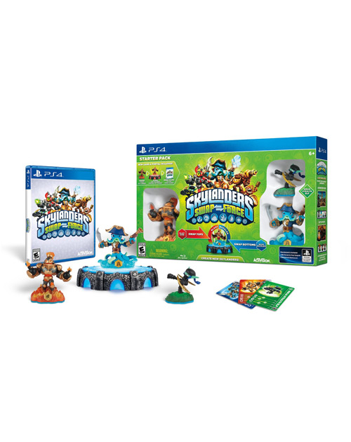 Skylanders SWAP Force PS4 Cover