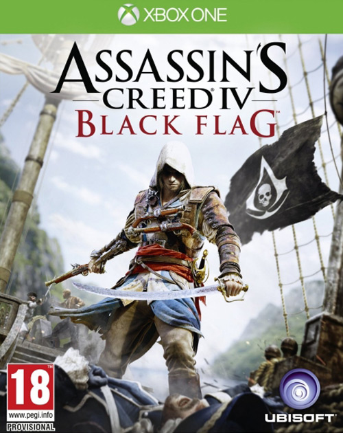 Assassin's Creed IV: Black Flag XBOX One Cover